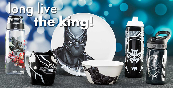 Zak Designs Black Panther Products