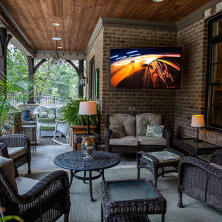 Create Your DREAM Patio & Take Family Movie Night Outdoors With The SunBriteTV Veranda Series