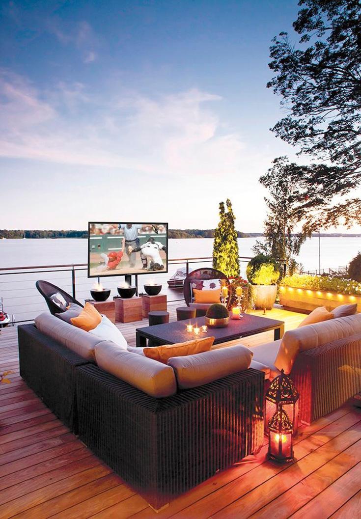 Create Your DREAM Patio With The SunBriteTV Veranda Series