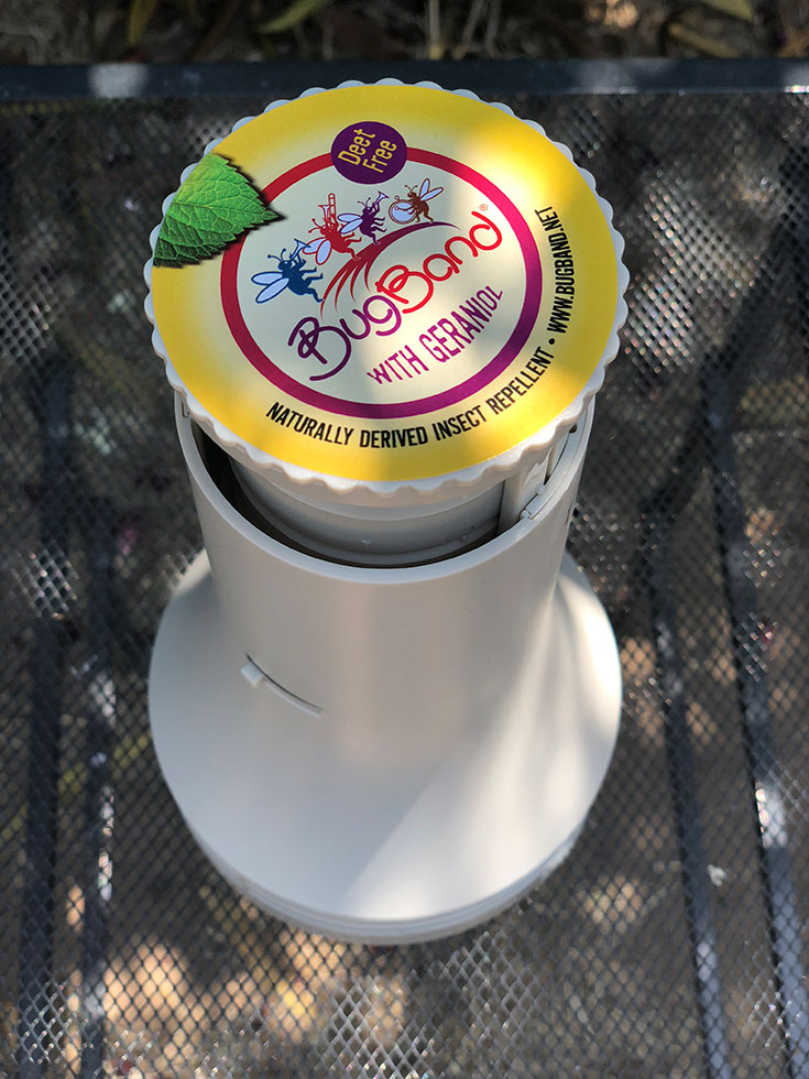 BugBand Portable Diffuser Insect Repellent Review + Giveaway