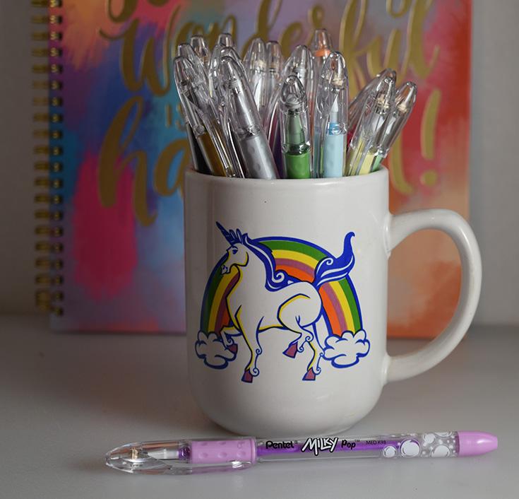 Make It Pop With Color With Pentel's POP Gel Pens + Gel Pen Prize Pack Giveaway #PentelPOP