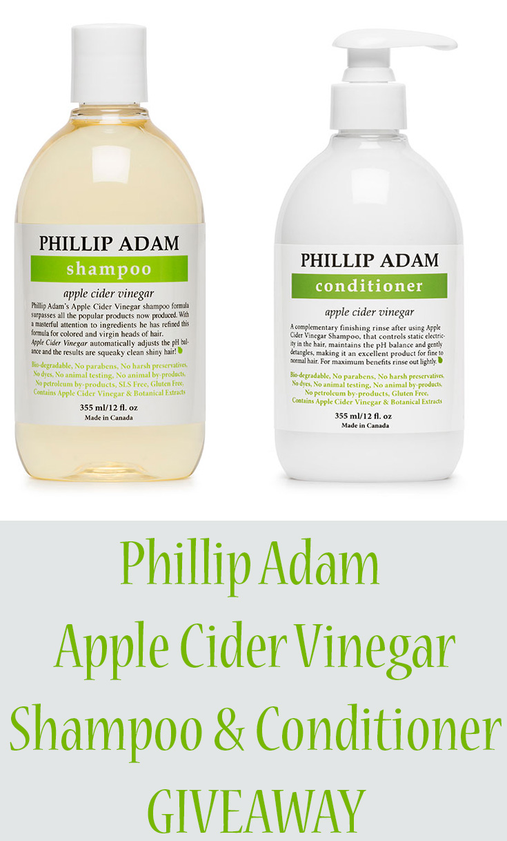 Phillip Adam Shampoo & Conditioner Giveaway