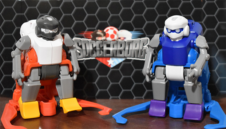 Soccerborg Robotic Soccer Game Review