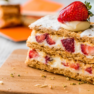 Strawberry Icebox Cake With Lemon Recipe