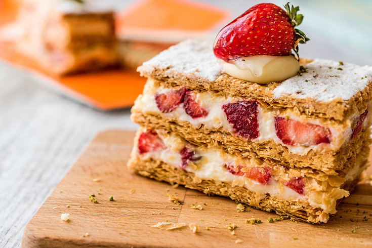 Strawberry Icebox Cake With Lemon Recipe
