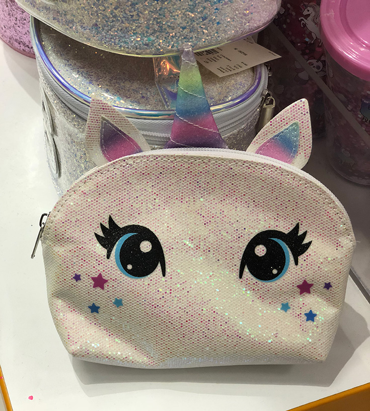 Unicorn Makeup Bag - Justice
