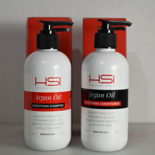 HSI Argan Oil Shampoo & Conditioner Review