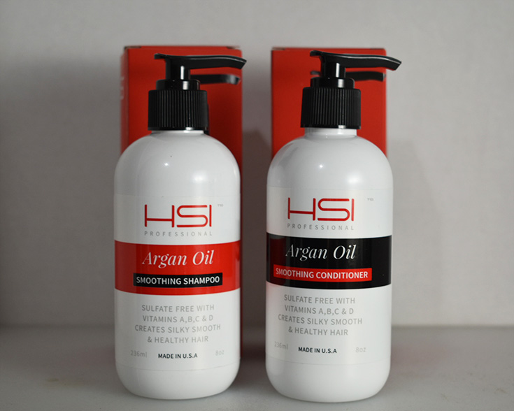HSI Professional Argan Oil Shampoo & Conditioner Review