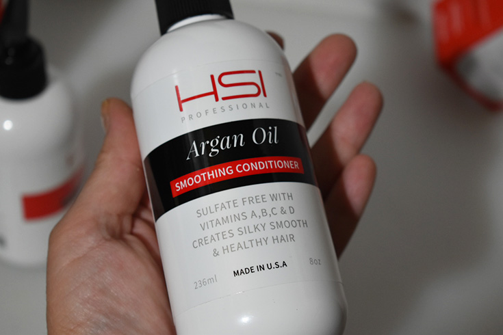 HSI Professional Argan Oil Soothing Conditioner