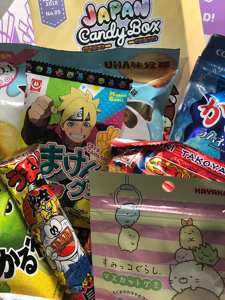 Japan Candy Box Review + #JapanCandyBox Giveaway