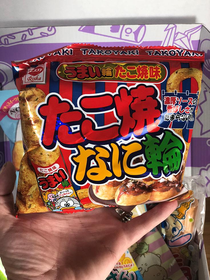 Umaibo Takayaki Potato Rings