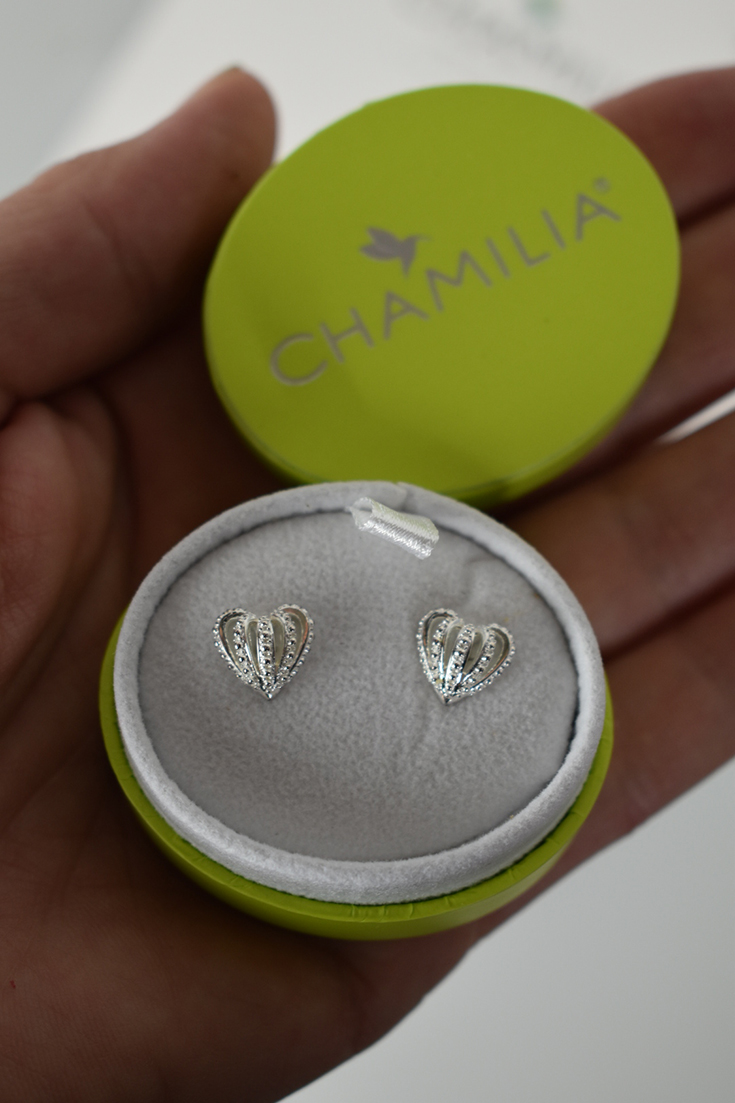 Chamilia Crown Hearts Earrings
