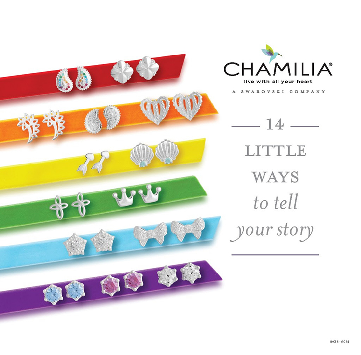 NEW Stud Earring Collection From Chamilia