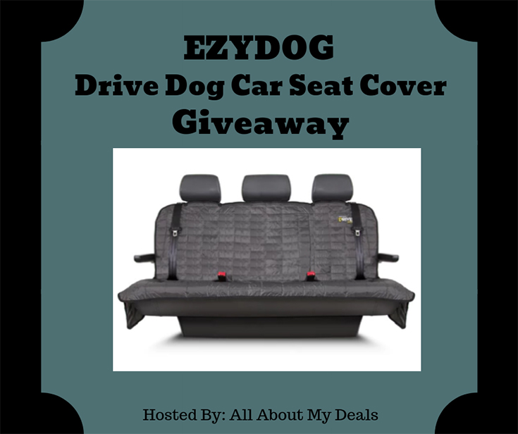Welcome To The EZYDOG Drive Dog Car Seat Cover Giveaway