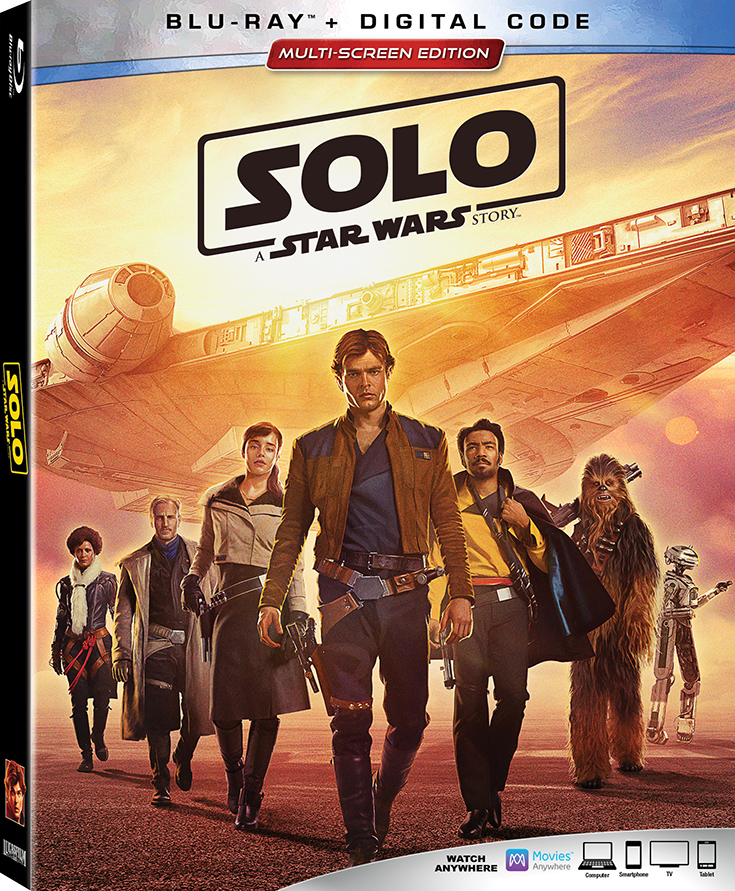 Solo: A Star Wars Story Is NOW Available On Blu-ray & More