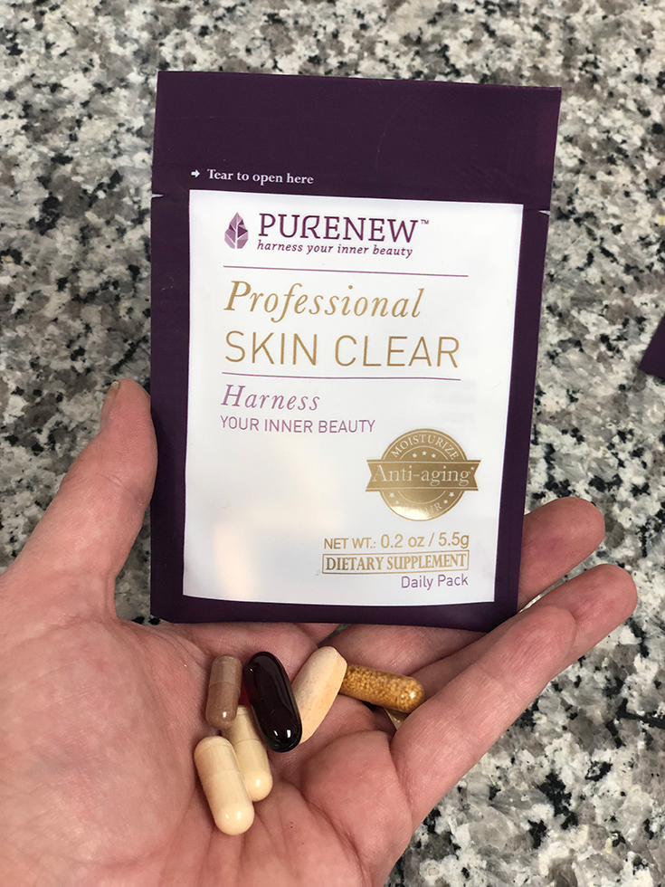 PURENEW Professional Skin Clear Dietary Supplement