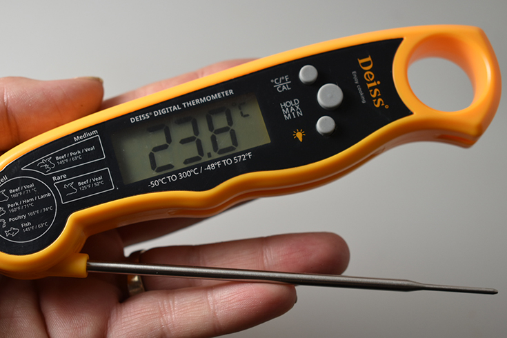 Deiss Kitchenware Digital Meat Thermometer Review + Giveaway