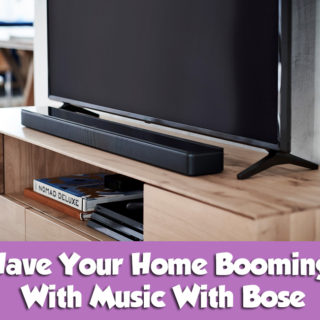 Have Your Home Booming With Music With Bose