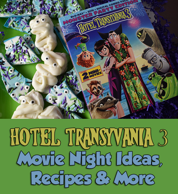 Hotel Transylvania 3 Movie Night Ideas, Recipes & More #HotelT3