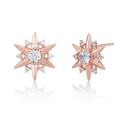 Chamilia Blush Starbursts Earrings