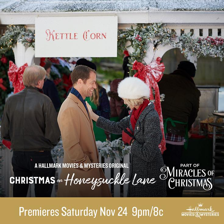 "Hallmark Movies & Mysteries ""Christmas on Honeysuckle Lane"""