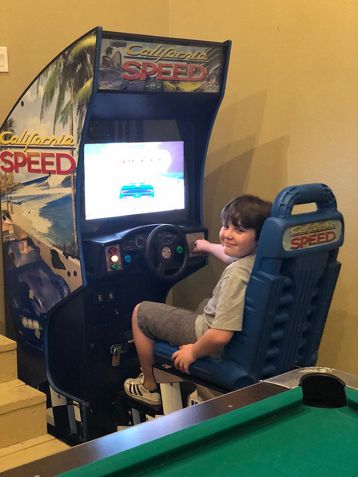 Game Room at Forest Suites Resort