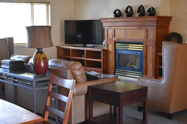 Living Room Area - Presidential Suite At Forest Suites At Heavenly Village