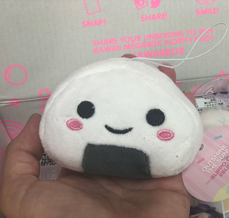 Kawaii Onigirl Plush Charm