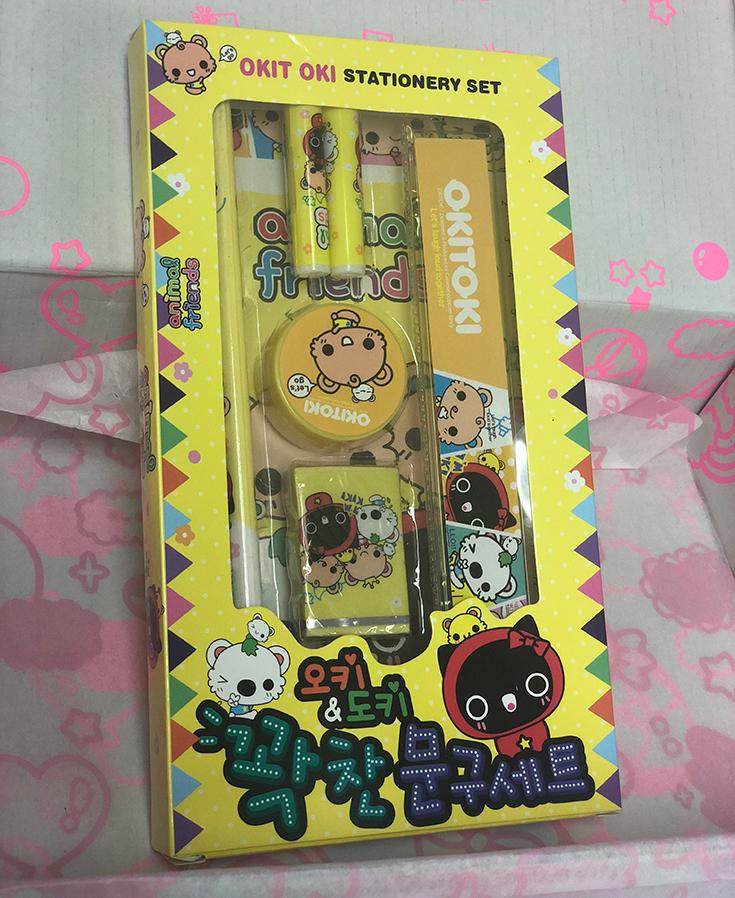 Korean Okitoki Stationary Set