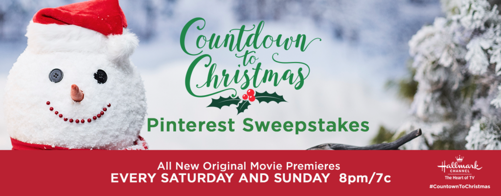 Hallmark Channel's Second Annual Countdown to Christmas Pinterest Sweepstakes