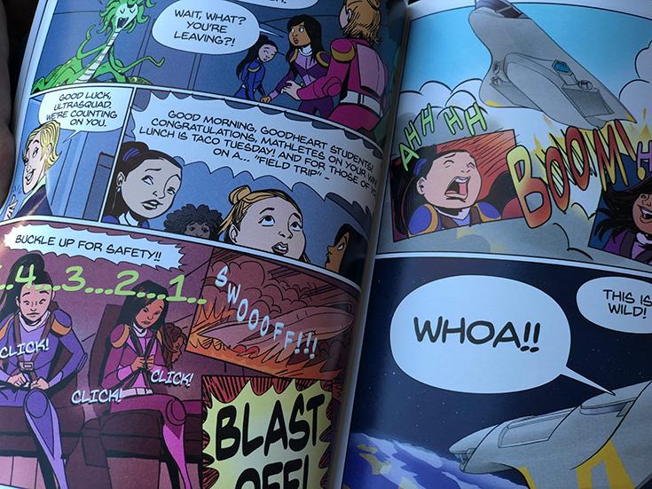 Justice - Ultra Squad Comic Book