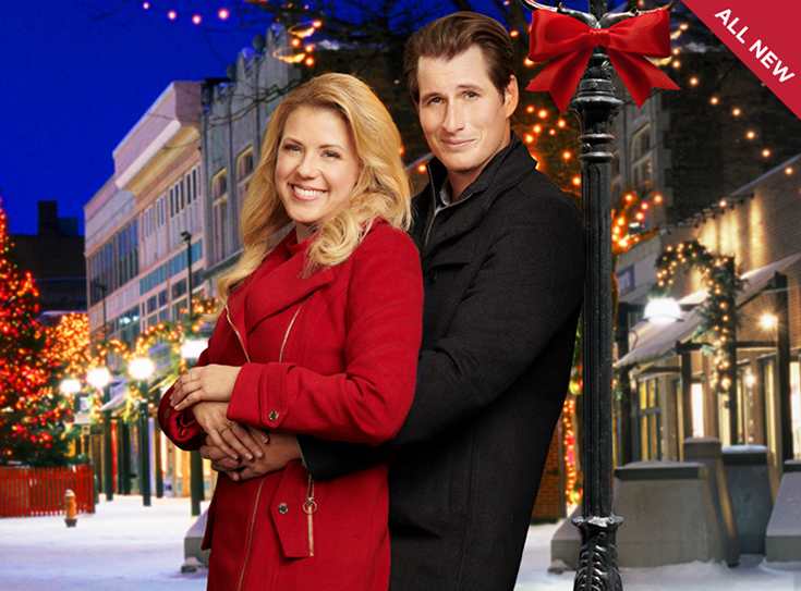 "Hallmark Channel's Premiere Of ""Entertaining Christmas"""