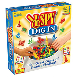 I Spy I Dig In Find-It Game