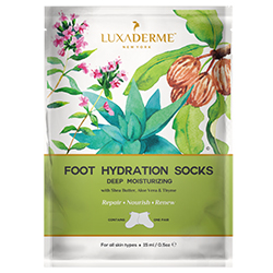 LuxaDerme Foot Hydration Socks