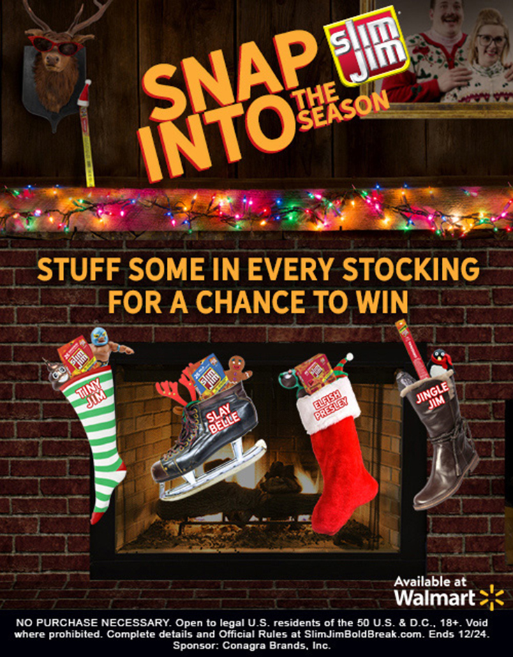 Snap Into The Season - Slim Jim - #SlimJimBoldBreak
