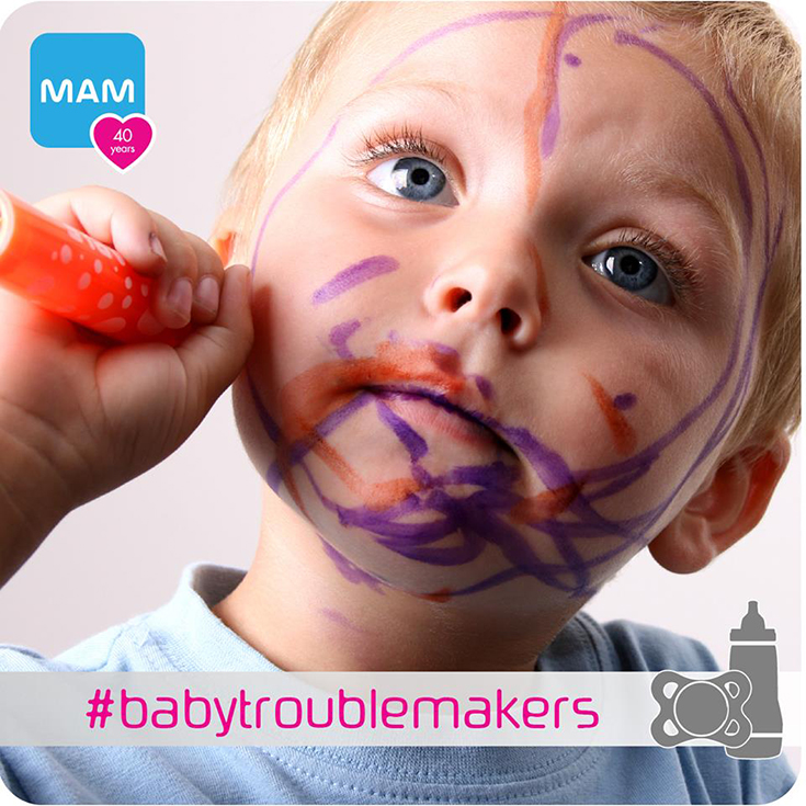 MAM #babytroublemakers Contest + MAM Prize Pack Giveaway
