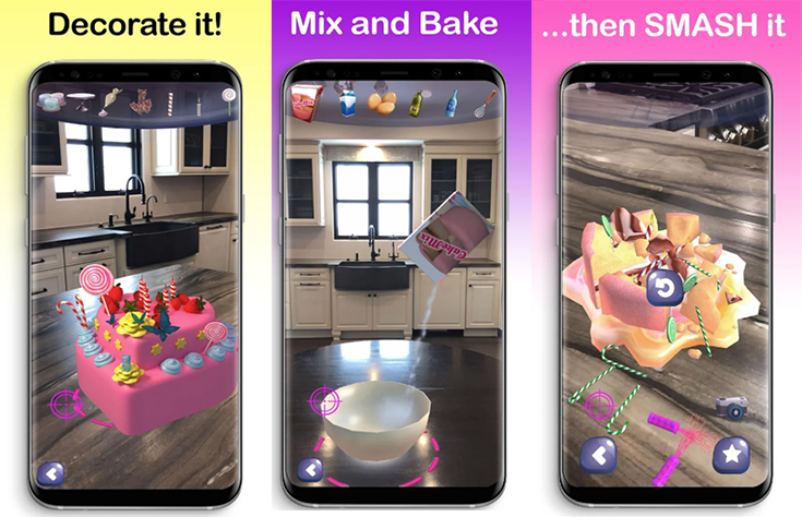 The NEW AR Cake Baker App + iPad and Oculus Giveaway