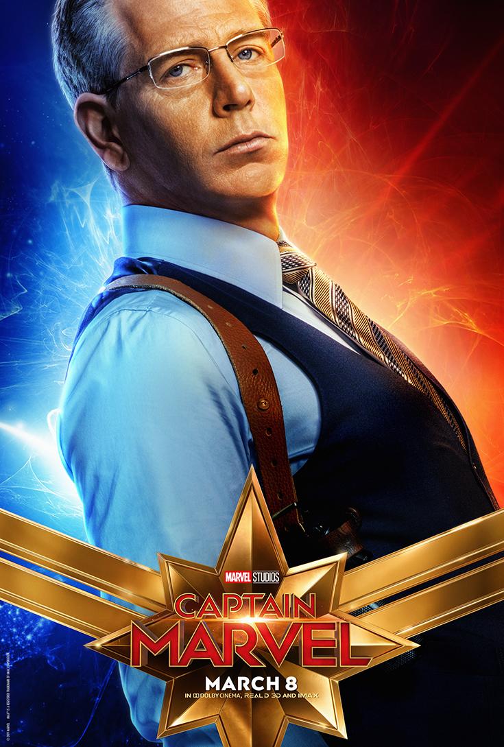 Captain Marvel Movie Poster - Talos/Ben Mendelsohn