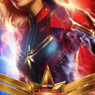 Captain Marvel - Carol Danvers - Movie Poster