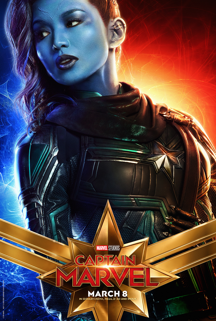 Captain Marvel Movie Poster - Doctor Minerva/Gemma Chan