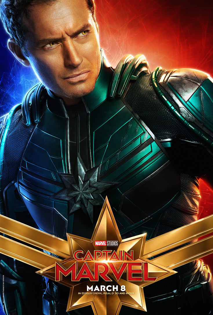 Captain Marvel - Walter Lawson - Movie Poster