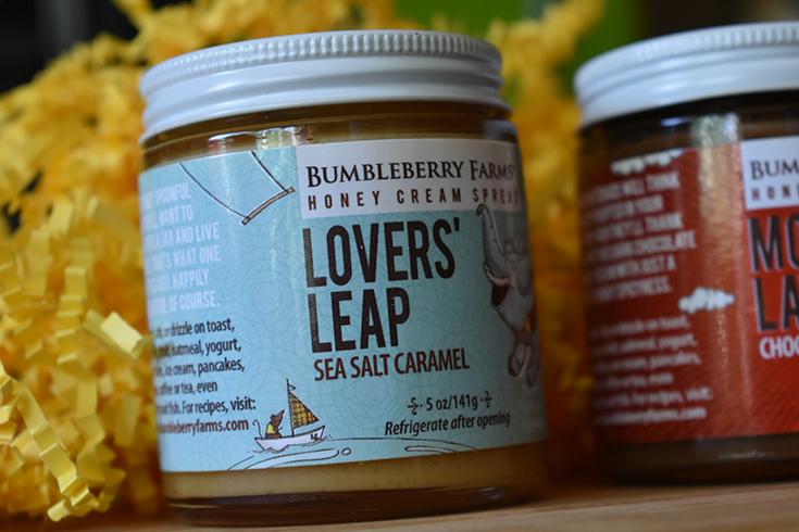 Lovers' Leap Sea Salt Caramel Honey Cream Spread