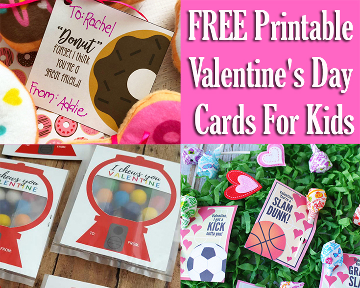 free printable valentine's day cards for kids  mom's blog