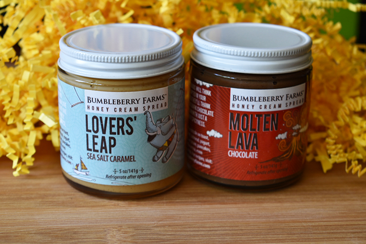 SWEET Honey Creams Spreads From BumbleBerry Farms + Prize Pack Giveaway