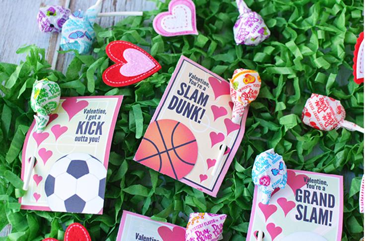 Free Printable Sports Valentines