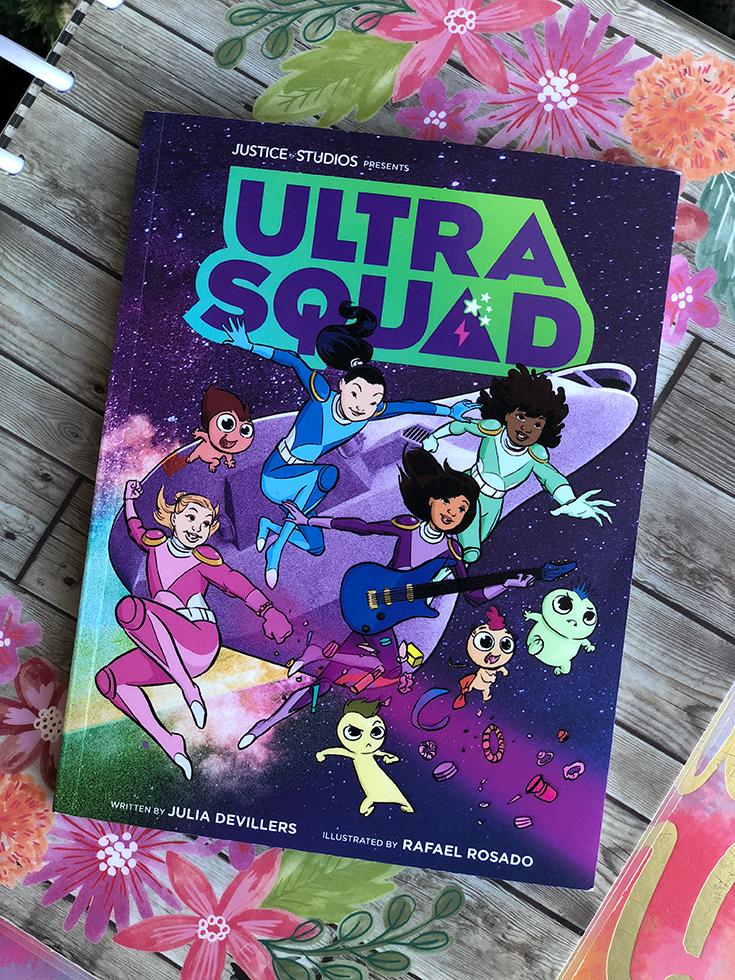 Justice Ultra Squad Comic Book