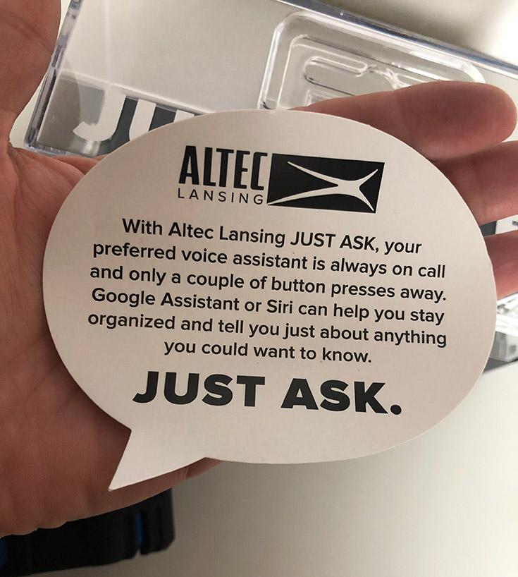 Altec Lansing - Just Ask