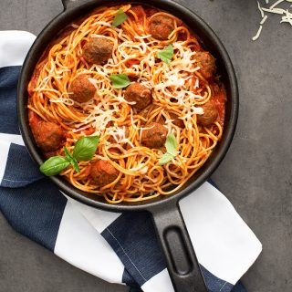 Baked Spaghetti And Meatballs Recipe