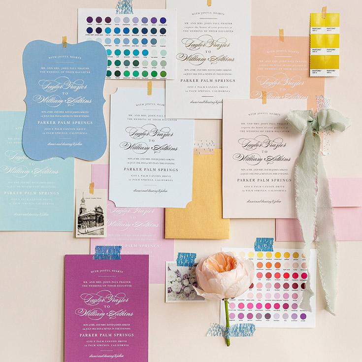 Basic Invite - Truly Custom Invitations, Save The Date Cards, Stationary, Business Cards & More