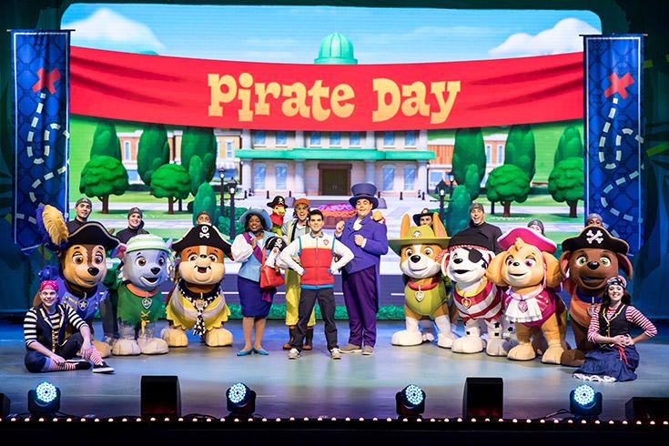PAW Patrol Day - Pirate Day
